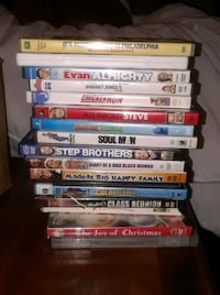 Over 200 plus DVDs