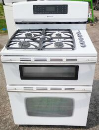 Used Jenn Air 5burner Gas And Electric Range For Sale In