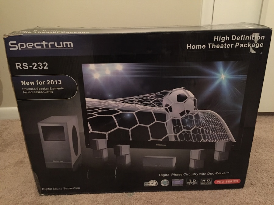 Used New Spectrum RS-232 High Definition Home Theater System ...