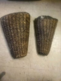 Two Plant Wall Hangers for Sale.