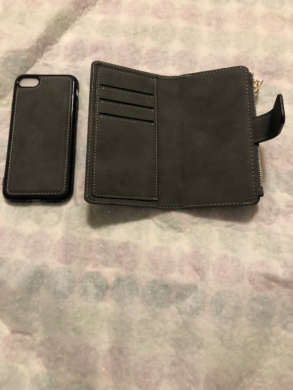 iPhone 7 wallet case & temporary glass 785919cf-6f67-4bcc-af39-f1d3052e8014