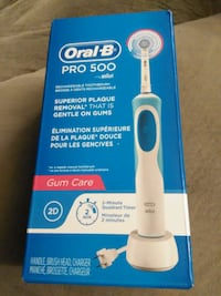Oral B Pro 500 Toothbrush Brand New Sealed Whitchurch-Stouffville, L4A 0J5