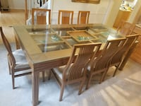 Dining Table (Teak wood)  and Cabinet (Oak wood)  Troy, 48084