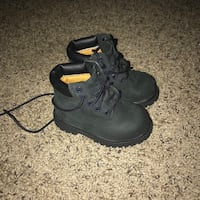 Timberlands $20, NorthFace boots $10 both 5c