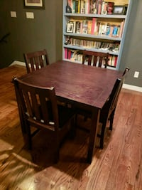 brown wooden dining table set Houston, 77008