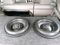 gray and black  DC audio level 5'subwoofer speaker Baltimore, 21205