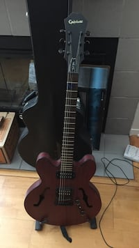 Epiphone cherry red acoustic with electric pickup San Mateo, 94403