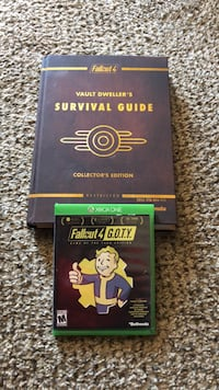 Video game Fallout 4 + all dlc and strategy guide. Mooresville, 46158