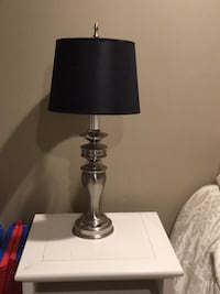 black and gray table lamp Commack, 11725