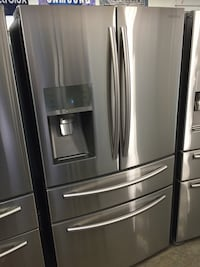 Samsung 4-Door Stainless Steel Bottom Freezer Fridge!!! Garden Grove, 92843