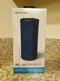 Braven: Brv-360 Waterproof Portable Speaker
