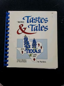 More Tastes & Tales of Texas COOKBOOK
