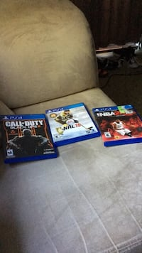 Three sony ps4 game cases Cambridge, N3C 1A9