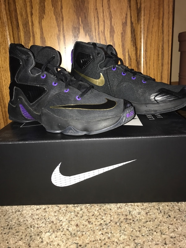 best loved 12701 14f7f Used Nike Lebron 13 Pot of Gold Shoes for sale in Johnston - letgo