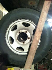 7 tires on GEO Tracker rims Kearneysville, 25430