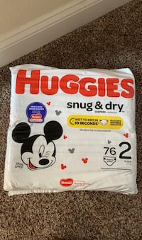 Diapers Size 2