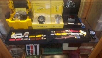 Estate sale new and used watches
