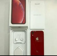 Red IPhone xr