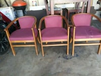 THREE CHAIRS GOOD CONDITION San Jose, 95110