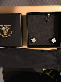 Brand new in box men's .25 carat diamond earrings ! Retail 600$ Langley, V2Y