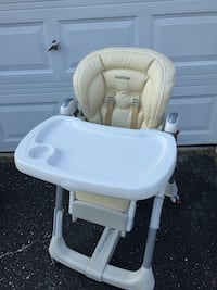 baby's white and gray high chair West Islip, 11795