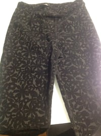 Top shop black printed pants 544 km