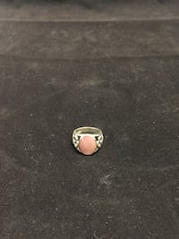 Woman's pink opal ring Bloomfield, 07003