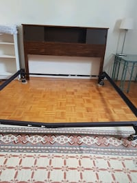 Bed frame and head board Burnaby, V5C 3Z6