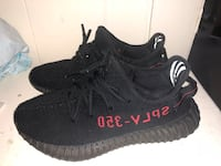 Pair of black adidas yeezy boost 350 v2 Paterson, 07501