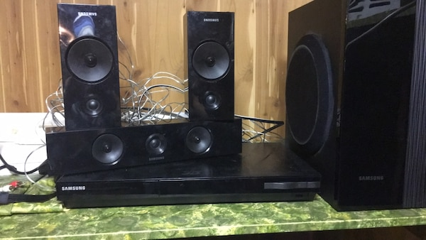 Ssamsung blue ray home theatre  system