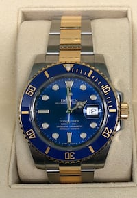 ROLEX Submariner Blue, Two-Tone NEW!  Costa Mesa, 92627