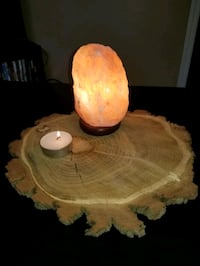 Decorative table piece - rustic wood