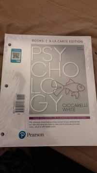 Psychology textbook 5th edition Corona, 92882