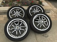 4 mags jante 17 po 5×114.3 Montreal, H1K