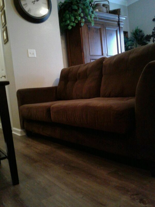 Used Beautiful Chocolate Brown Micro Suede Sofa 165 For In Euless
