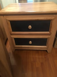 Boys bedroom set. Two nightstands, six drawer dresser, full size bed frame, good condition  Miami, 33175