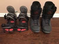 K2 SNOWBOARD BOOTS(sz 9 men's) WITH FREE BINDINGS Escondido, 92027