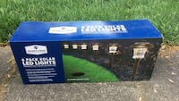6 Pack of Solar Garden/walkway lights. Herndon, 20171
