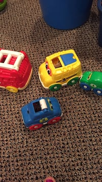 Fisher price stacking cars. Amazing toy! I loved this too!! Only $9! Vaughan, L4J 5L7