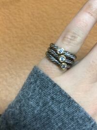 3 Stone Stackable Ring 2056 mi