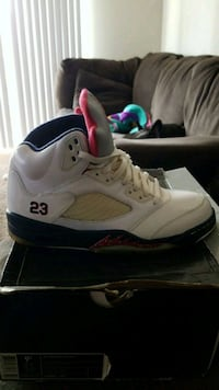 Jordan retro 5's all Patton leather  Woodbridge, 22191