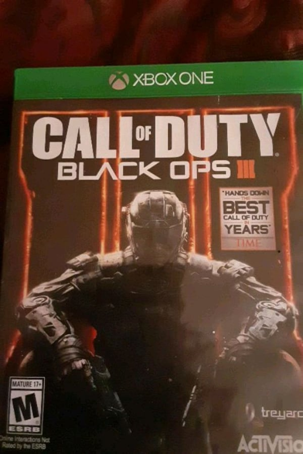 Used Xbox One Call Of Duty Black Ops 3 For Sale In Mesa Letgo