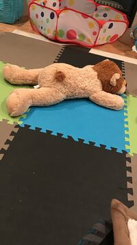 beige and brown animal plush toy Calgary, T2A