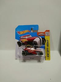 red and white Hot Wheels Rip Rod die-cast car pack