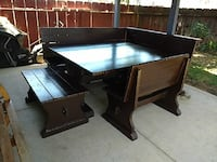 black wooden table with chairs Madera, 93638