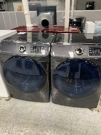 Samsung Black Stainless Gas Dryers (7.5 Cu. Ft.)
