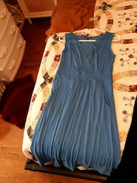 women's blue sleeveless dress Richmond Hill