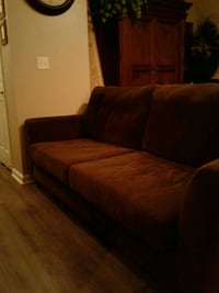 Beautiful Comfy Micro Suede Sofa $250 Euless, 76039