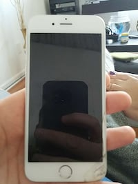 silver iPhone 6-64gb AT&T with cracked screen  Lansing, 48906