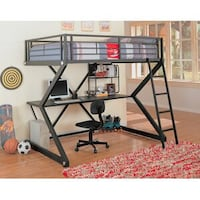 Loft Bed with Desk - 1 year old and was $649.00